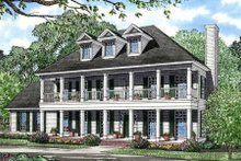 House Plan Design - Southern Exterior - Front Elevation Plan #17-258