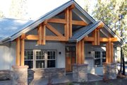 Craftsman Style House Plan - 3 Beds 2.5 Baths 2594 Sq/Ft Plan #895-36 Exterior - Other Elevation