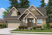 Cottage Style House Plan - 4 Beds 2.5 Baths 2388 Sq/Ft Plan #132-567 Exterior - Front Elevation