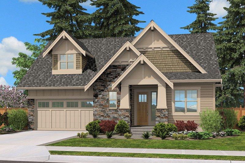 House Plan Design - Cottage Exterior - Front Elevation Plan #132-567