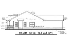 House Plan Design - Cottage Exterior - Other Elevation Plan #20-122