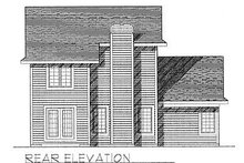 Traditional Exterior - Rear Elevation Plan #70-124