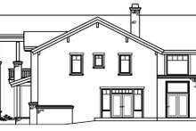Craftsman Exterior - Other Elevation Plan #124-516