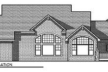 Dream House Plan - Farmhouse Exterior - Rear Elevation Plan #70-878