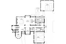 Traditional Floor Plan - Main Floor Plan Plan #928-331