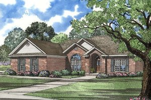 Contemporary Exterior - Front Elevation Plan #17-149