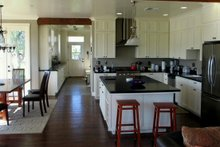 Dream House Plan - farmhouse kitchen and dining room