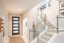 Contemporary Interior - Entry Plan #1058-180