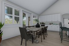 Architectural House Design - Traditional Interior - Dining Room Plan #1060-61