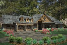 Dream House Plan - Craftsman Exterior - Front Elevation Plan #120-191