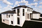 Contemporary Style House Plan - 6 Beds 5.5 Baths 6119 Sq/Ft Plan #920-72 Exterior - Front Elevation