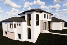 Home Plan - Contemporary Exterior - Front Elevation Plan #920-72