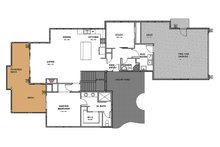 Craftsman Floor Plan - Main Floor Plan Plan #895-92