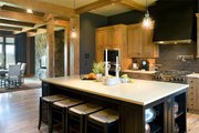 Craftsman Style House Plan - 5 Beds 3.5 Baths 5266 Sq/Ft Plan #48-640 Interior - Kitchen