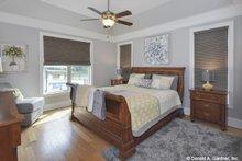 Home Plan Design - Craftsman Interior - Master Bedroom Plan #929-1025