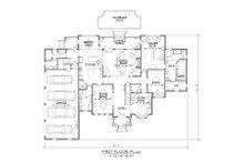 Traditional Floor Plan - Main Floor Plan Plan #1054-57