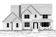 Traditional Style House Plan - 4 Beds 2.5 Baths 2802 Sq/Ft Plan #51-493 Exterior - Other Elevation