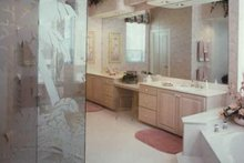 Mediterranean Interior - Master Bathroom Plan #930-40