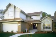 Modern Style House Plan - 3 Beds 2.5 Baths 2170 Sq/Ft Plan #320-432 Exterior - Front Elevation
