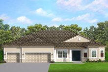 Dream House Plan - Ranch Exterior - Front Elevation Plan #1058-197