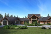 Classical Style House Plan - 5 Beds 7.5 Baths 10754 Sq/Ft Plan #1066-86 Exterior - Front Elevation