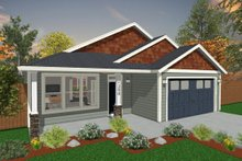 Dream House Plan - Ranch Exterior - Front Elevation Plan #943-51