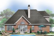 Country Style House Plan - 4 Beds 3 Baths 2163 Sq/Ft Plan #929-470 Exterior - Rear Elevation