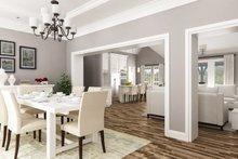 Dream House Plan - Craftsman Interior - Dining Room Plan #45-587