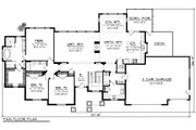 Ranch Style House Plan - 3 Beds 2.5 Baths 2687 Sq/Ft Plan #70-1176 Floor Plan - Main Floor
