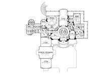 European Floor Plan - Main Floor Plan Plan #119-303