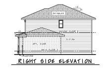 House Plan Design - Craftsman Exterior - Other Elevation Plan #20-2453