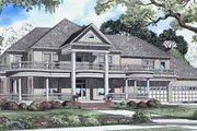 House Plan - 6 Beds 5 Baths 7870 Sq/Ft Plan #17-2098 Exterior - Front Elevation