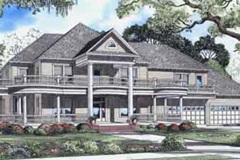 House Plan Design - Exterior - Front Elevation Plan #17-2098