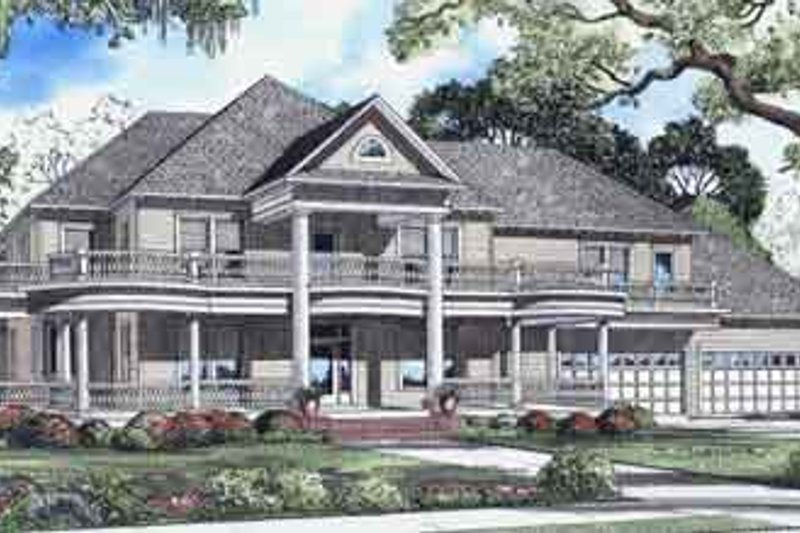 Dream House Plan - Exterior - Front Elevation Plan #17-2098