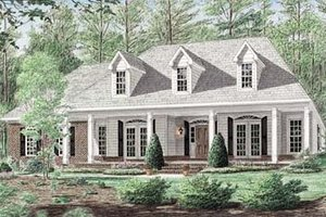 Traditional Exterior - Front Elevation Plan #34-146