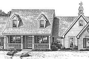 Farmhouse Exterior - Front Elevation Plan #310-610