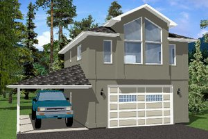 Traditional Exterior - Front Elevation Plan #126-164