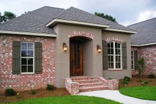 Home Plan - European Exterior - Front Elevation Plan #430-52