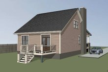 House Plan Design - Bungalow Exterior - Other Elevation Plan #79-206