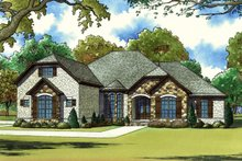 House Design - European Exterior - Front Elevation Plan #923-60