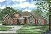 Traditional Style House Plan - 4 Beds 3 Baths 1989 Sq/Ft Plan #17-1040