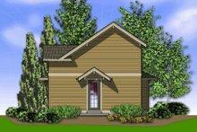 Home Plan - Craftsman Exterior - Rear Elevation Plan #48-370