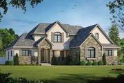 Traditional Style House Plan - 4 Beds 3.5 Baths 2495 Sq/Ft Plan #20-2126