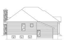 Cottage Exterior - Rear Elevation Plan #22-573