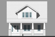 Craftsman Style House Plan - 4 Beds 3 Baths 2723 Sq/Ft Plan #461-65 Exterior - Front Elevation