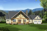 Country Style House Plan - 4 Beds 2.5 Baths 2400 Sq/Ft Plan #932-146 Exterior - Front Elevation