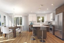 Architectural House Design - Ranch Interior - Kitchen Plan #23-2656