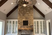 Craftsman Style House Plan - 4 Beds 3.5 Baths 3088 Sq/Ft Plan #437-111 Interior - Family Room