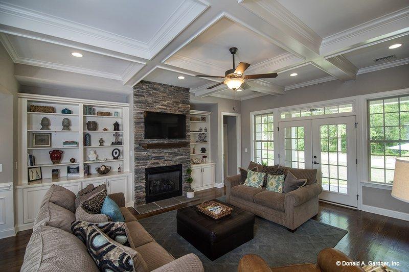 Country Interior - Family Room Plan #929-610 - Houseplans.com