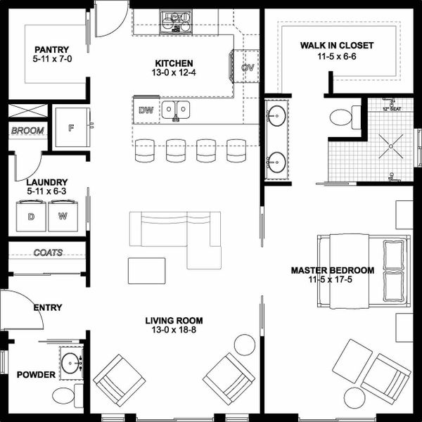 House Plan Design - Farmhouse Floor Plan - Other Floor Plan #126-176